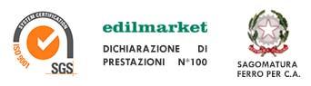 Edilmarket Bigmat a Massa è azienda certificata.