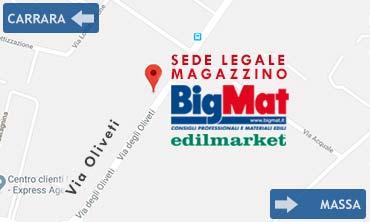 Come arrivare alla nostra sede legale e magazzino in Via Oliveti 76