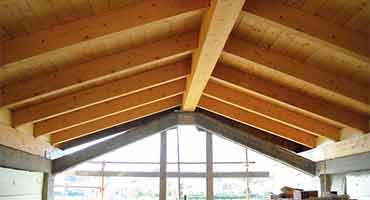 Tetti in legno e legname: Categoria Produzione - Edilmarket Bigmat